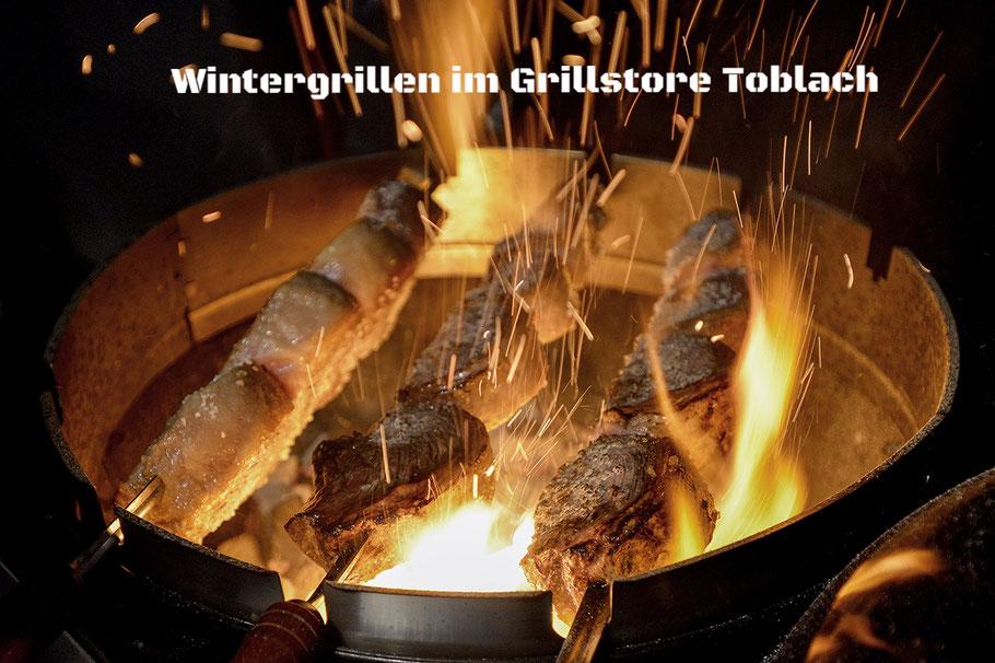 Wintergrillen im Grillstore Toblach