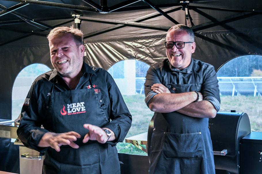 BBQ-Workshop mit Tom Heinzle 2019 im Grillstore Toblach
