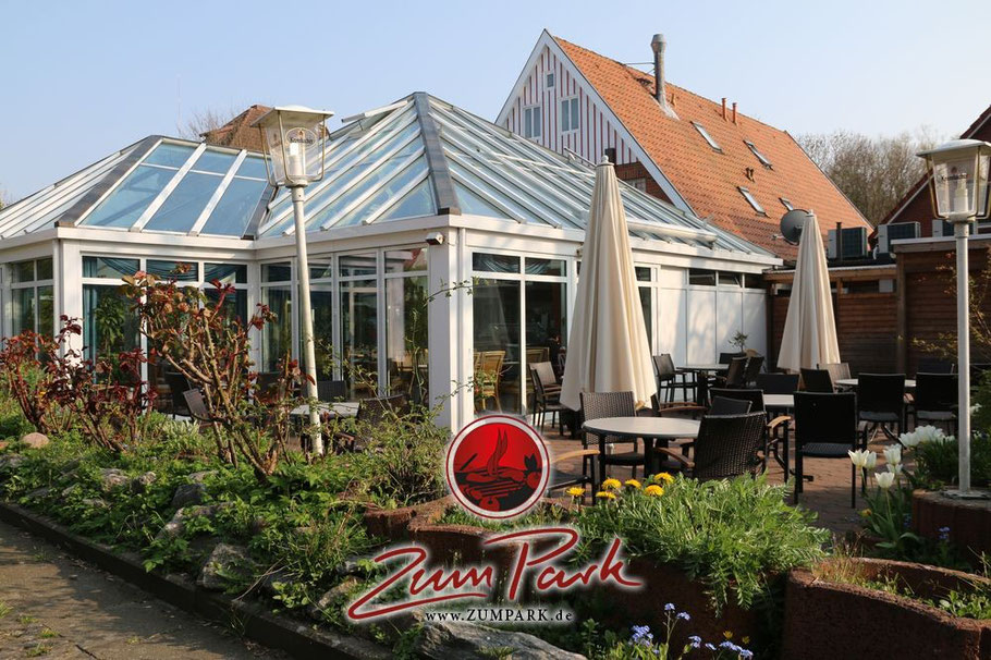 Wintergarten im Restaurant in Cuxhaven