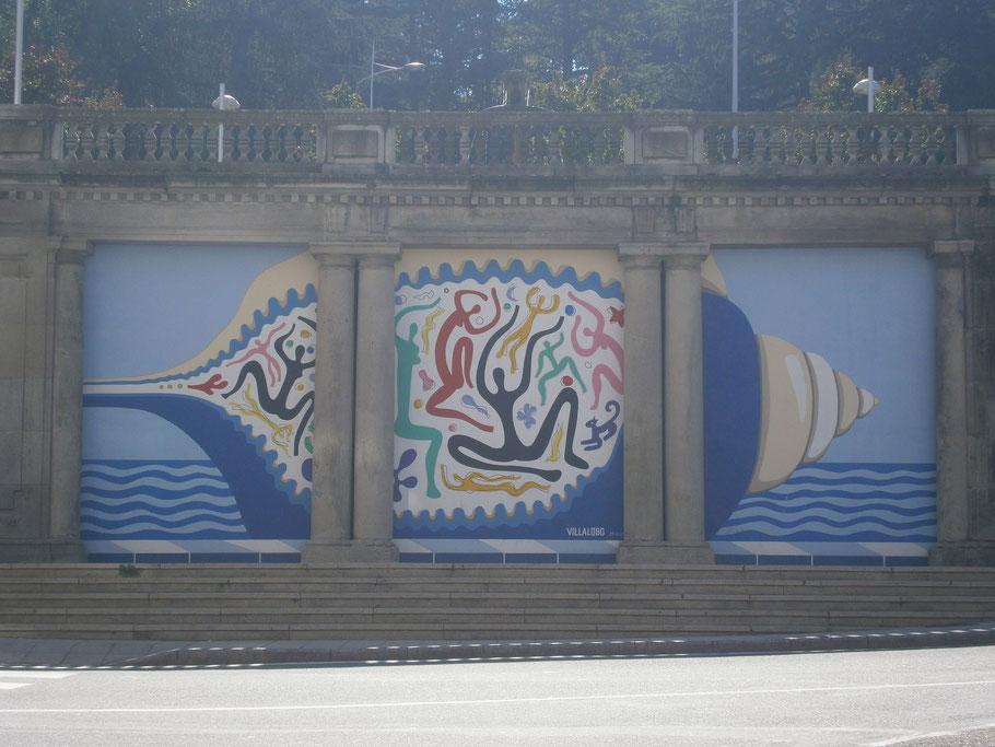 Wandbemalung aus Vigo!
