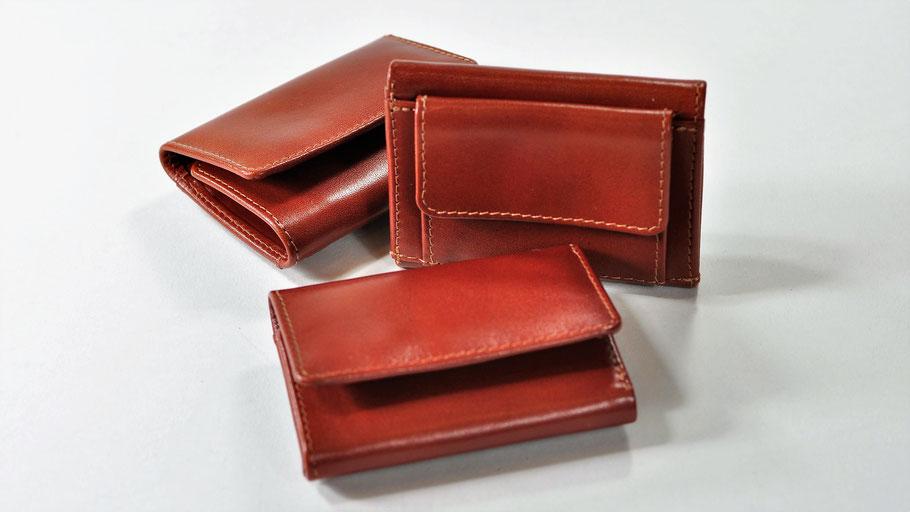 Geldinger kompakt: ein Portemonnaie aus der Lederkollektion des Berliner Unternehmens Stef Fauser Design.