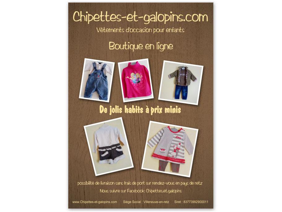 Vêtements d'occasion pour enfants en Pays de Loire. Habits à petits prix