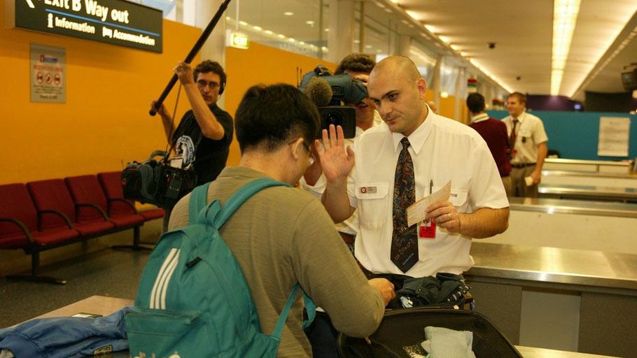 Imagen del programa Control de Aduanas, de la cadena DMAX