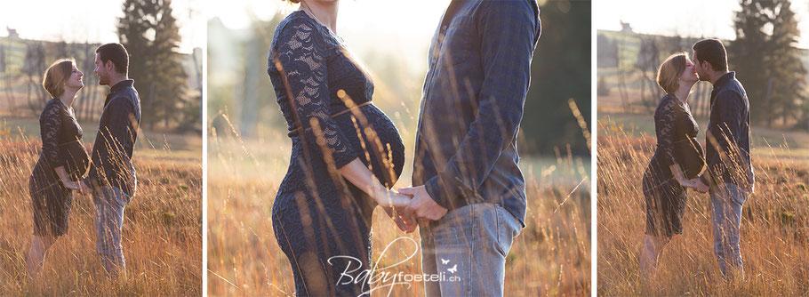 Schwangerschaftsshooting, Babybauchfoto