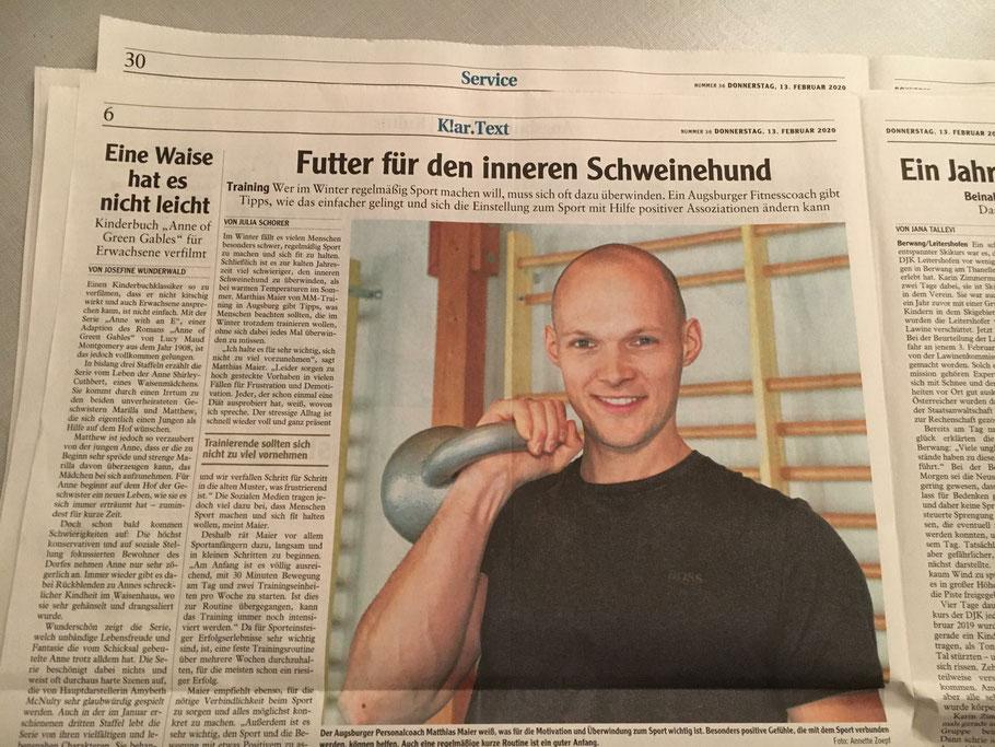 Matthias Maier - Personal Trainer in Augsburg