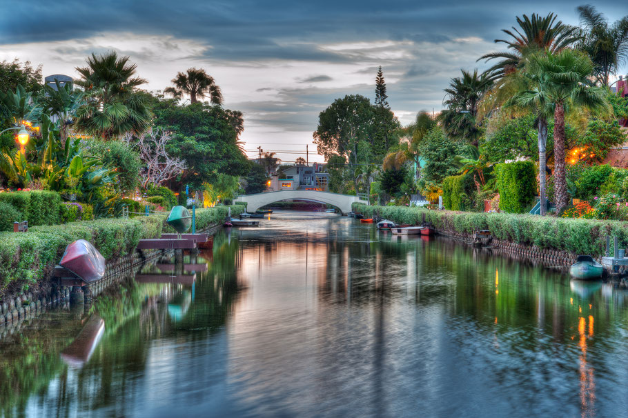 """""""Venice Canals at Sunset"""""""