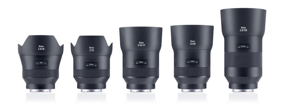 Puhlmann Cine - ZEISS BATIS Lenses
