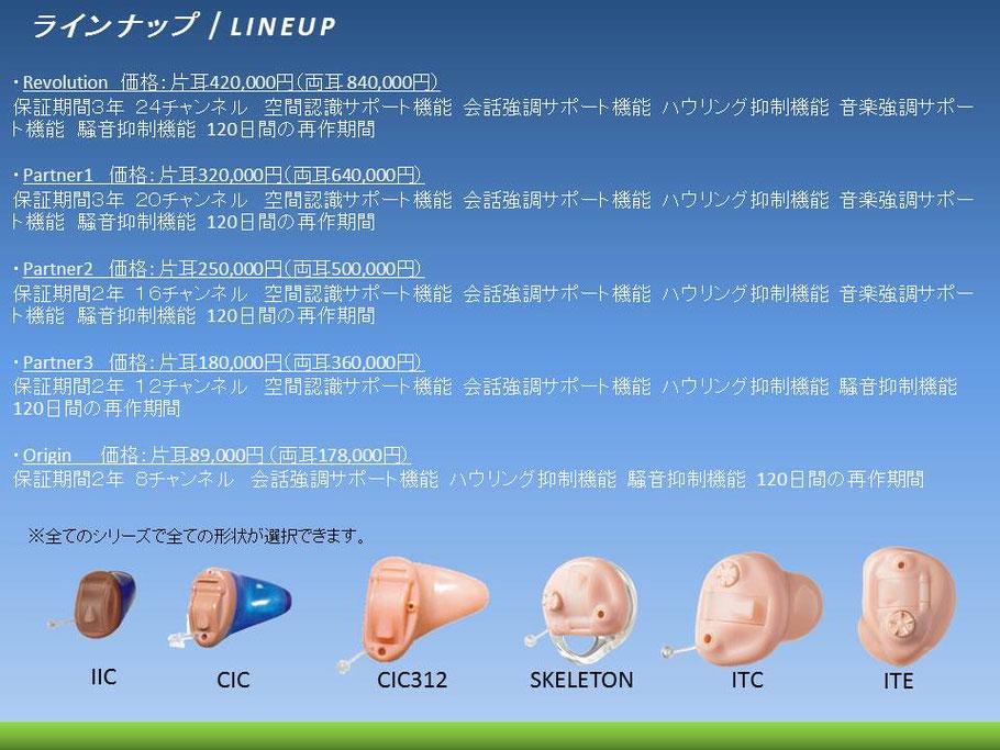 岡野電気 プライベートブランド補聴器 OKANO補聴器