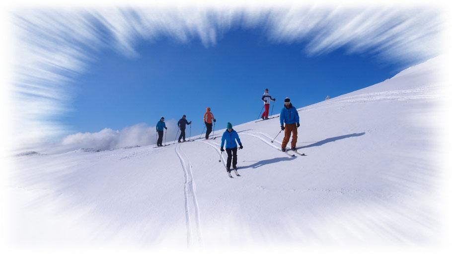 ski de randonnée les rousses jura école de ski
