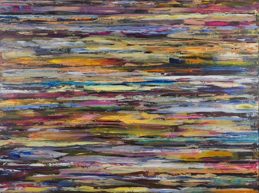 Farbkontraste / Acryl auf Leinwand / 120 x 160 cm