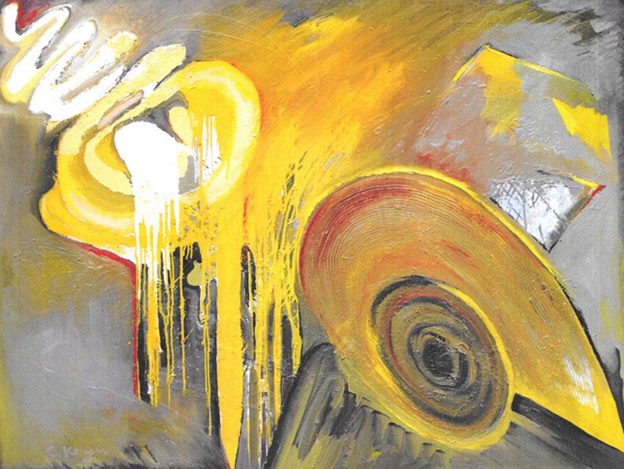 Dreams of harmony / Öl auf Leinwand / 135 x 180 cm