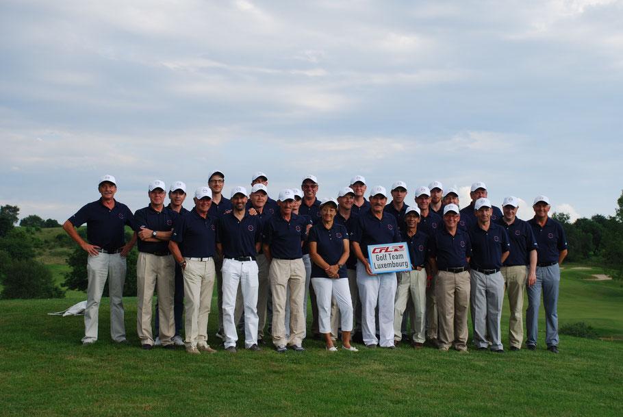 Das CFL Eurogolf Team 2016 holt sich den Titel des Vize-Europameisters der Eisenbahngolfer- und Golferinnen.