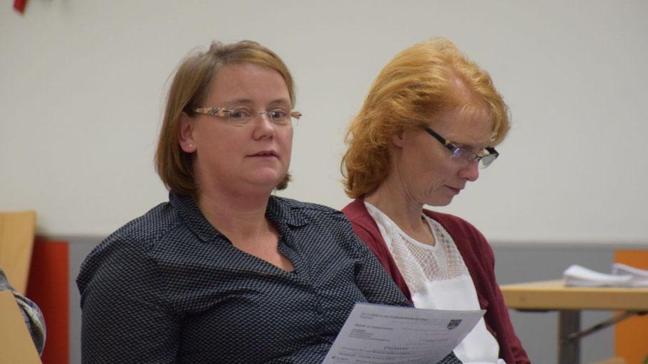 Bärbel Bohlmann, Personalratsvorsitzende, und Heidrun  Köllmann, 1. Stellvertretende Vorsitzende des Personalrates, nahmen als Gäste an der Sitzung teil und wurden vom Ausschussvorsitzenden vorgestellt.