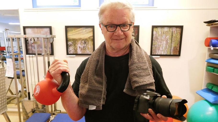 Sport und Kunst - für Hans-Werner Seyboth geht das in vielerlei Hinsicht zusammen.