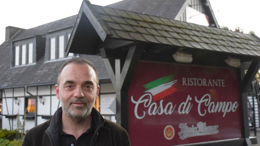 Leif Bellizzi freut sich auf viele Gäste in seinem neuen Ristorante in Quickborn-Heide.