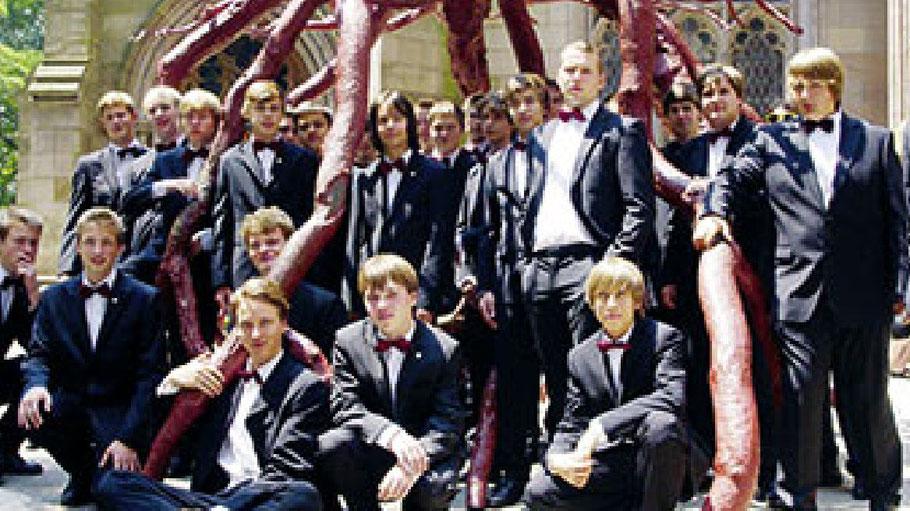 Geistliche Chormusik und Spirituals werden die Chorknaben Uetersen präsentieren.