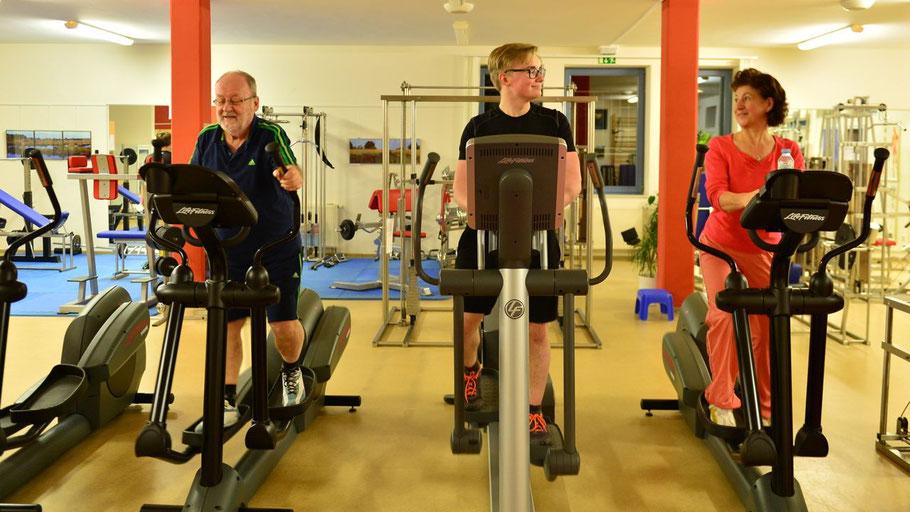 Für sein bestens ausgestattetes Fitness-Srudio bietet der TuS Holstein Quickborn jetzt ein Sommer-Spezial.