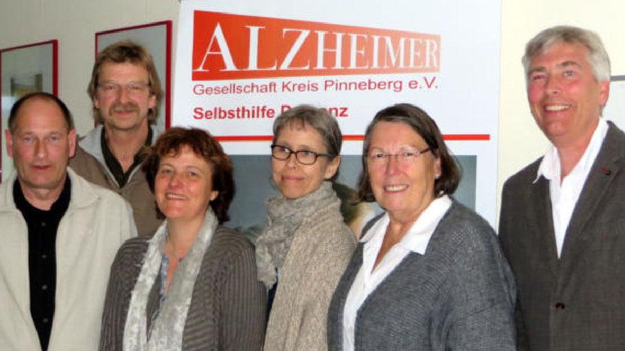 Der Vorstand der Alzheimer Gesellschaft Kreis Pinneberg