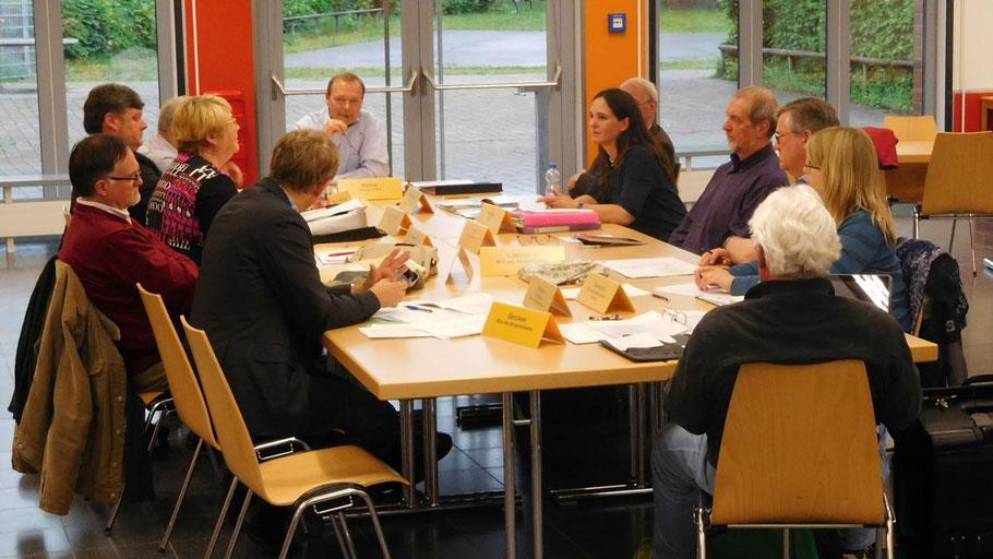 Der Hauptausschuss hat noch Fragen zur geplanten Zusammenlegung von zwei Fachbereichen.