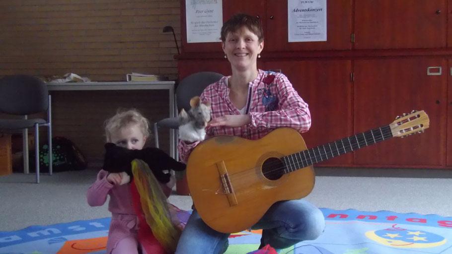 Kursleiterin Julia Timm freut sich auf Kinder, die bei ihr ihr musikalisches Talent erproben wollen.