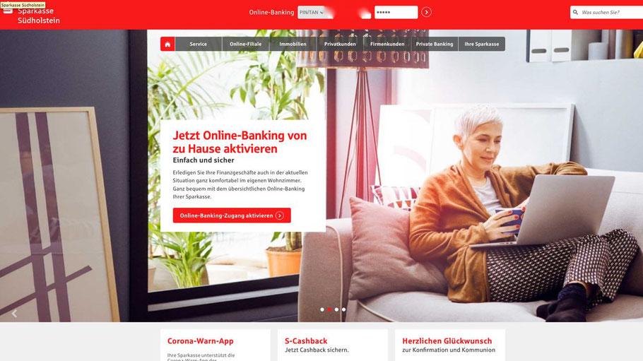 Sparkasse Sudholstein Erleichtert Zugang Zum Online Banking Bestnote Fur Digital Banking Quickborn1 Das News Portal Der Stadt Informationen Aus Politik Wirtschaft Und Kultur