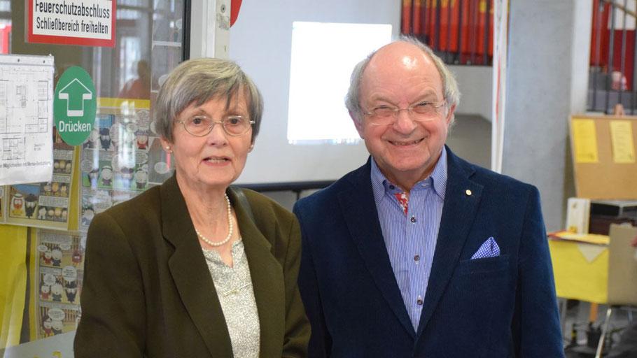 Die Organisatoren Irene Lühdorff und Johannes Schneider konnten sich über den Erfolg ihrer Veranstaltung freuen.