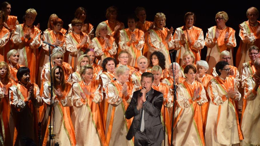 Volker Dymel wird die Predigt in der Christuskirche halten, sein Chor Lean on Gospel wird den musikalischen Teil gestalten.