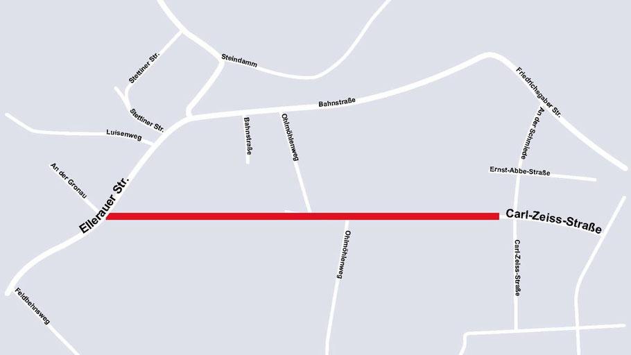 So könnte die Verbindung zwischen Quickborn-Ort und Quickborn-Heide nach den Vorstellungen der Verwaltung aussehen.