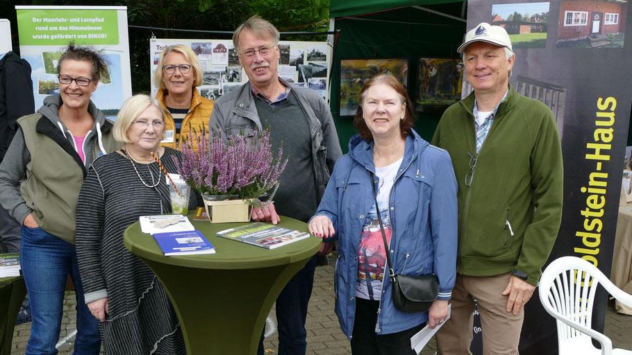 Warben für das Henri-Goldstein-Haus, das zum Museum ausgebaut werden soll: Petra Klinge, Christiane Lefebvre, Harald Maniezki, Carmen und Dieter Lohse