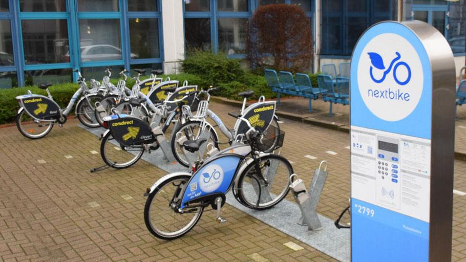 Die Fahrradleihstationen an der comdirect-Bank und am Bahnhof Tanneneck werden vorerst die einzigen in Quickborn bleiben.