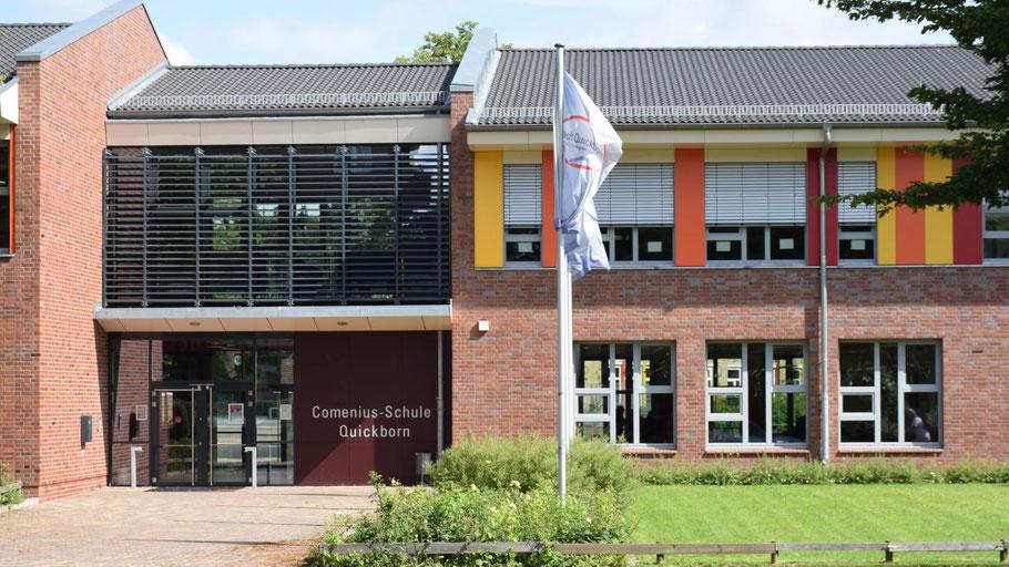 Woher hat die Comenius-Schule Quickborn ihren Namen?