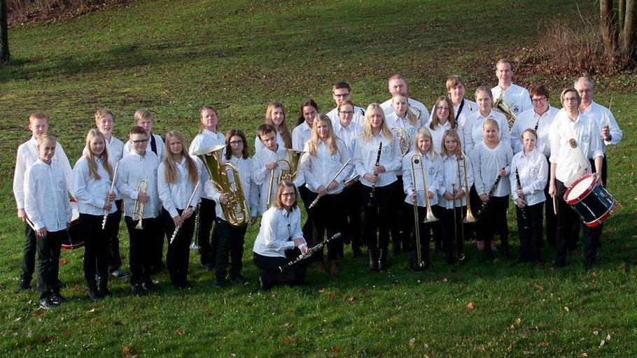 Sie kommen in der Adventszeit nach Quickborn: die Musikschüler und -schülerinnen aus Boxholm