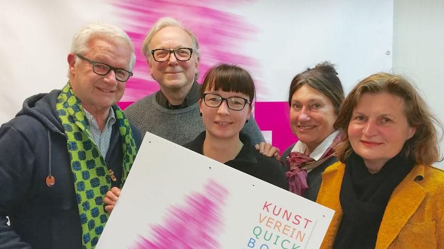 Der Vorstand freut sich auf viele Besucher: Hans-Werner Seyboth, Edwin Zaft, Romy Rölicke, Alice Kaufmann und Annette Fahrenkrug