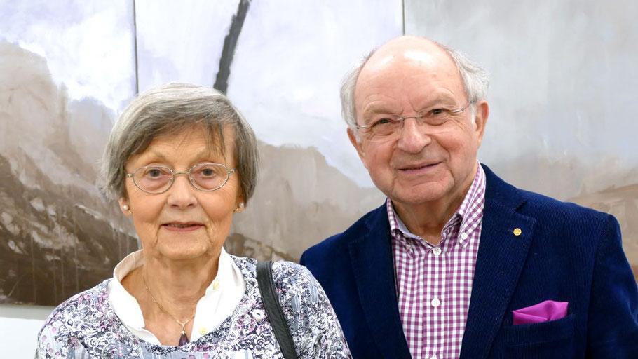 Irene Lühdorff und Johannes Schneider möchten sich gern aus der Vorstandsarbeit beim Kulturverein zurückziehen.
