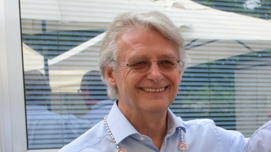 Heinz Wiedemann feierte seinen 65. Geburtstag.