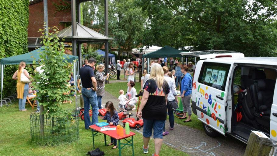 Gut besucht war das Sommerfest der Martin-Luther-Gemeinde.