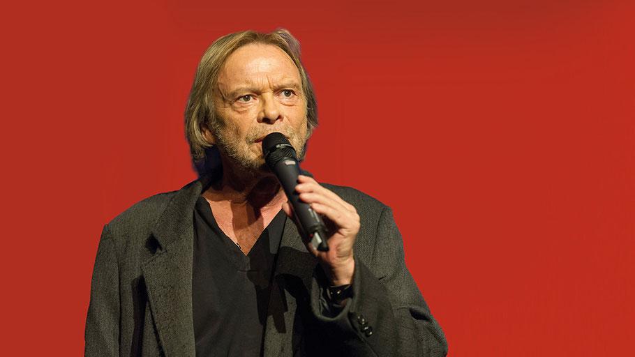 Volker Lechtenbrink gehört zu den Stars, die die VHS-TeilnehmerInnen erleben dürfen.
