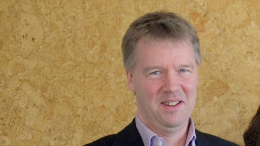 Gunnar Becker, der diesjährige Präsident des Rotary-Clubs Quickborn, stellte die Pläne des Clubs für das rotarische Jahr