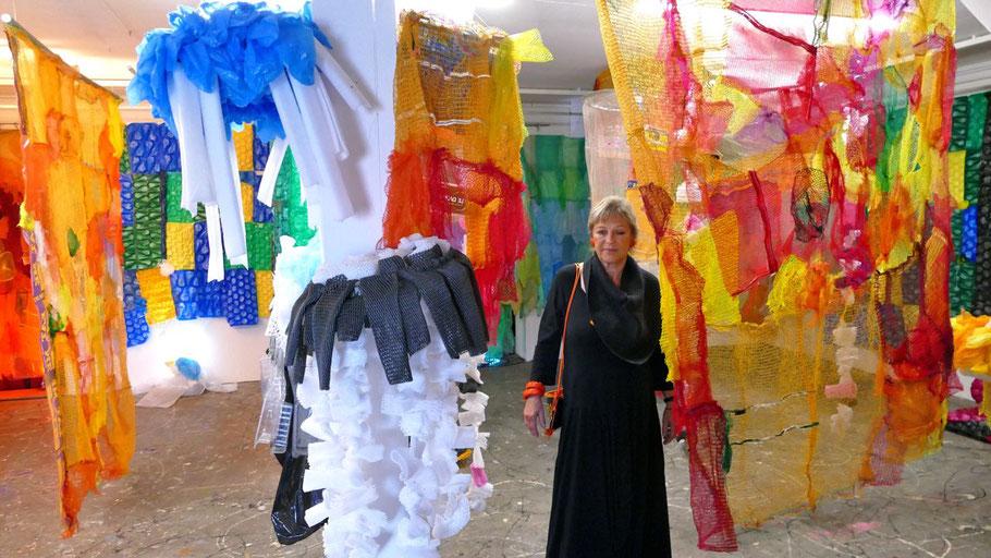 Präsentiert ihre Werke in Quickborn: Künstlerin Friederike Lydia Ahrens