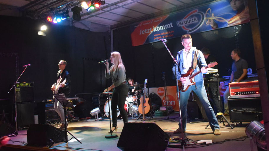 Für den musikalischen Abschluss des diesjährigen Eulenfestes sorgten die Tonados.