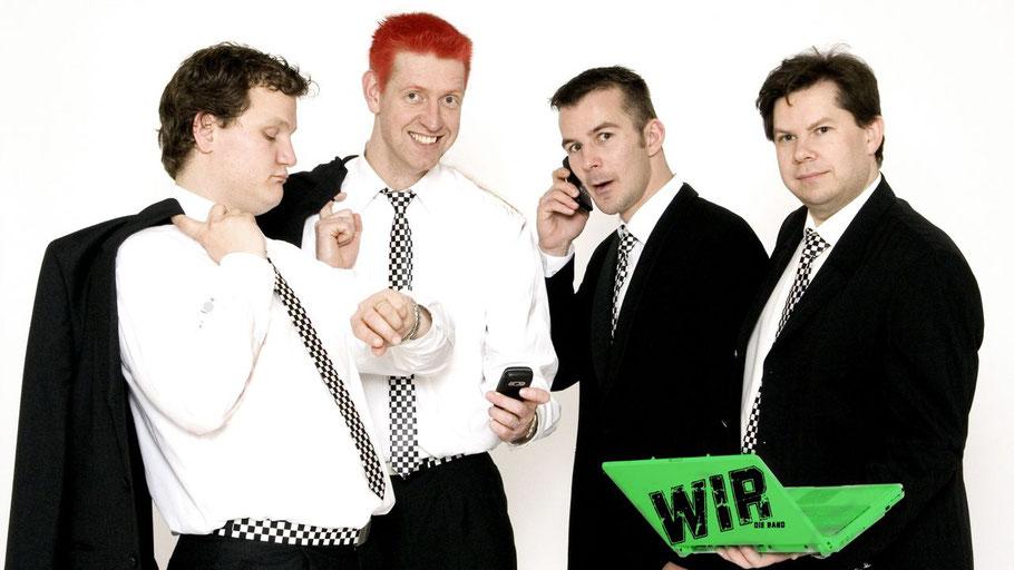 """Die Punk-Rock-Band """"Wir"""" gehört zu den Bands beim Langeln Open Air"""
