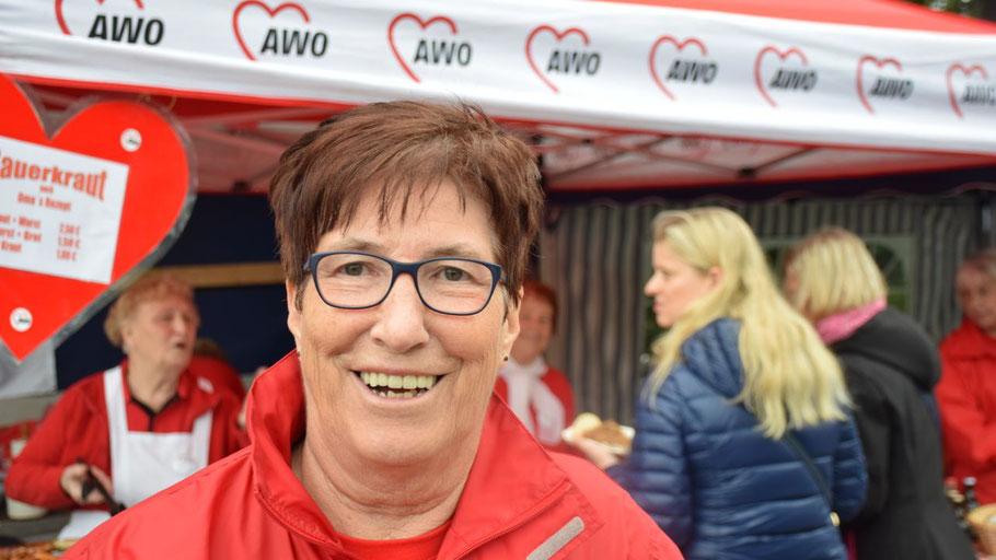 AWO-Chefin Elke Schreiber freut sich auf viele Besucher des Gartenfestes