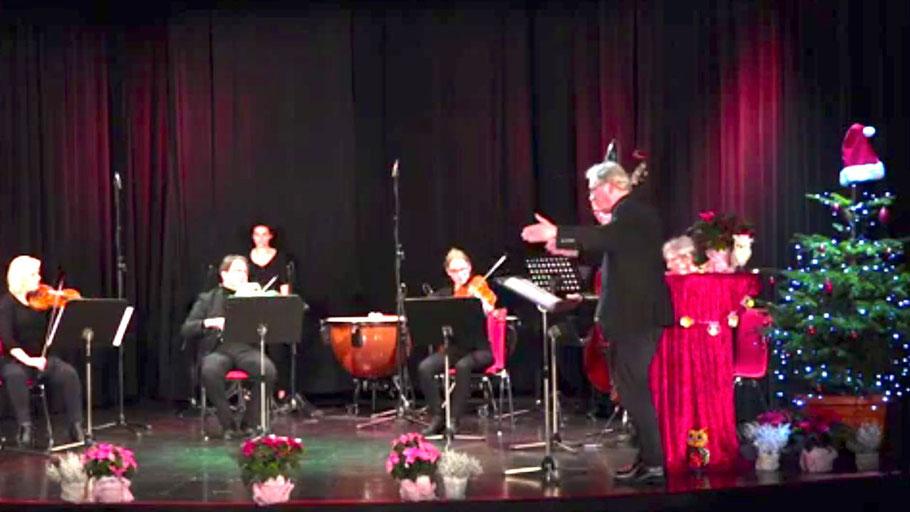 Zu einem Weihnachtskonzert lädt die Musikschule online ein (Foto: Screenshot)