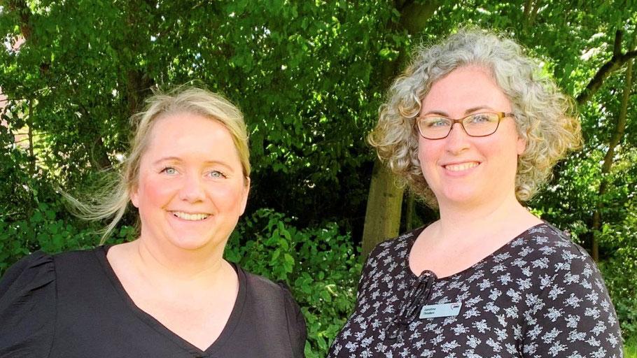 Caroline Thießen und Dana Bogner beraten Schuldner im Kreis Pinneberg