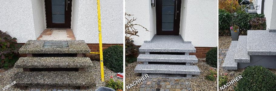 Treppensanierung und Natursteinteppiche M. Böhm Allersberg