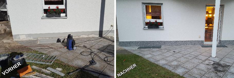 Sockelsanierung und Natursteinteppiche M. Böhm Allersberg