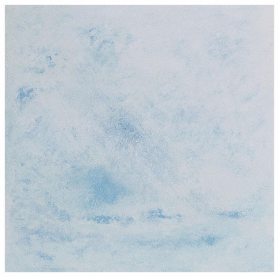 Die leichten Wolken, 86 x 86 cm, Copyright by Martin Uebele