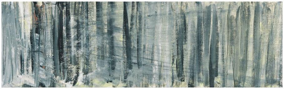 Als ich im Wald war II, 64x20 cm, Copyright by Martin Uebele
