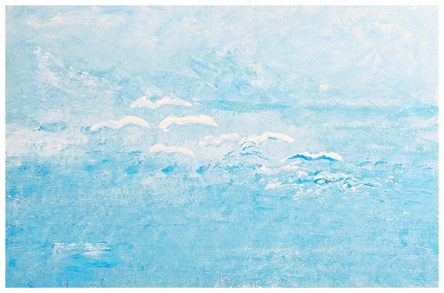 Die Möven von Sandford, 100x200cmCopyright by Martin Uebele