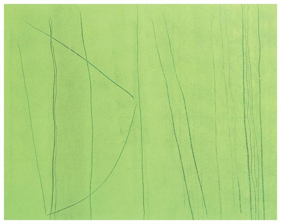 Waldstriche, 120x80cm, verkauft, Copyright by Martin Uebele